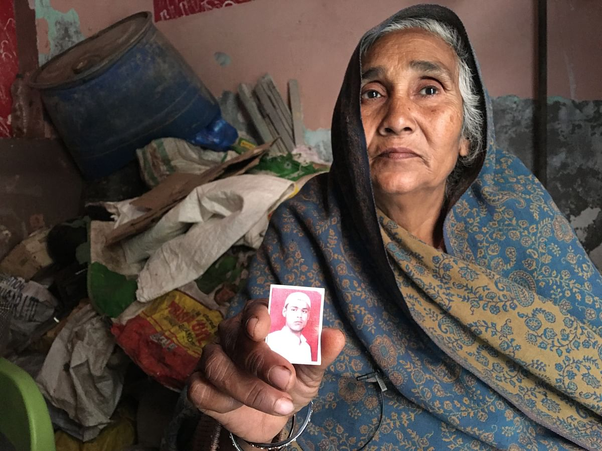 "Nafisa Begum says her son was very well behaved. Never spoke rudely to anyone. She asks, ""My son was innocent, how did they just kill him?"""