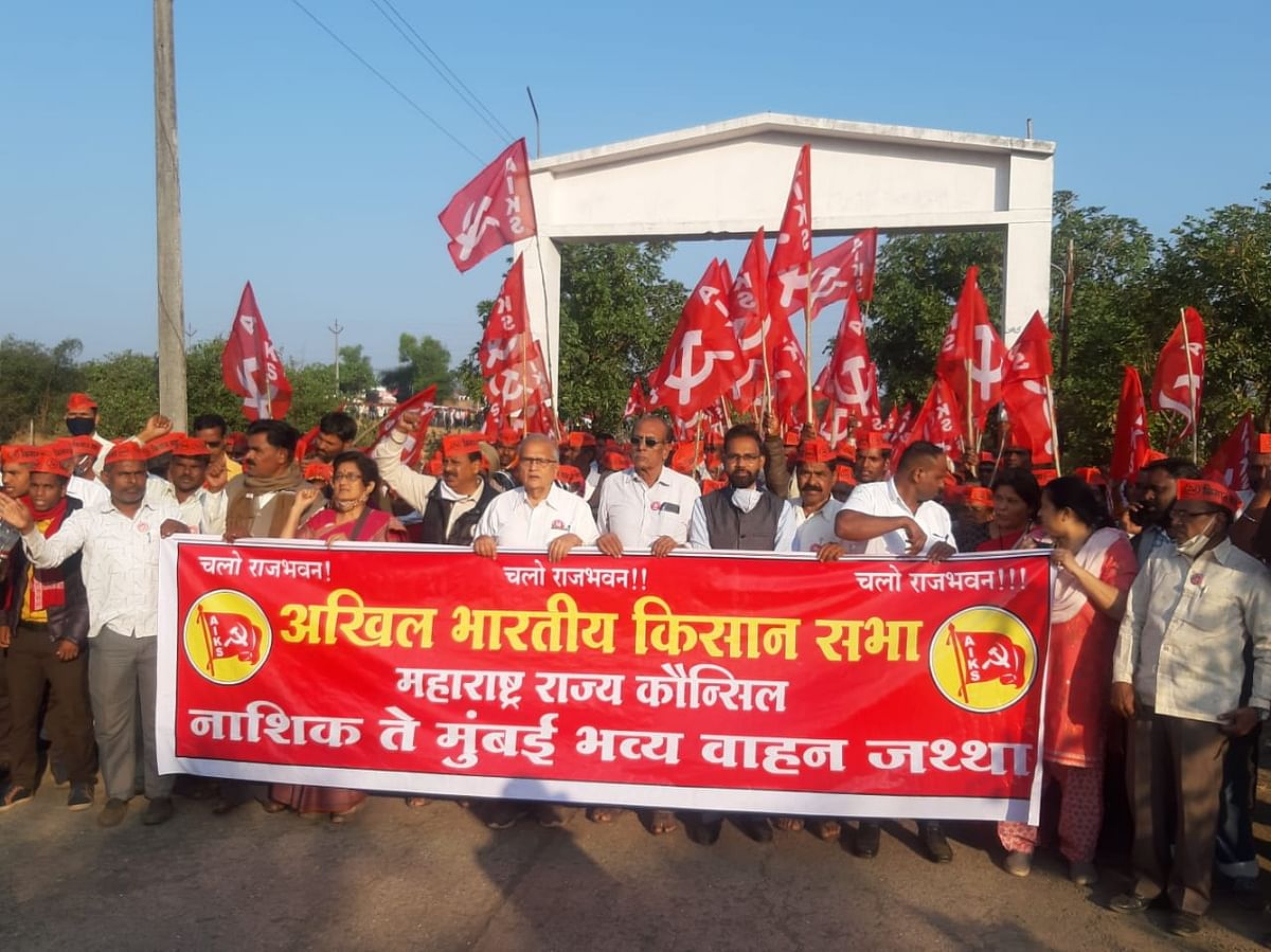 Farmers from 21 districts of Maharashtra have made their way to Mumbai.
