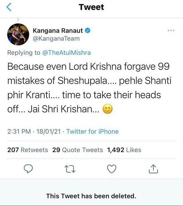 Twitter Justifies Restricting Kangana Amidst 'Tandav' Controversy
