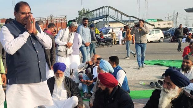 Abhay Singh Chautala in his letter said that farmers have been agitating in the winter cold against the new farm-laws for 47 days now. File photo.