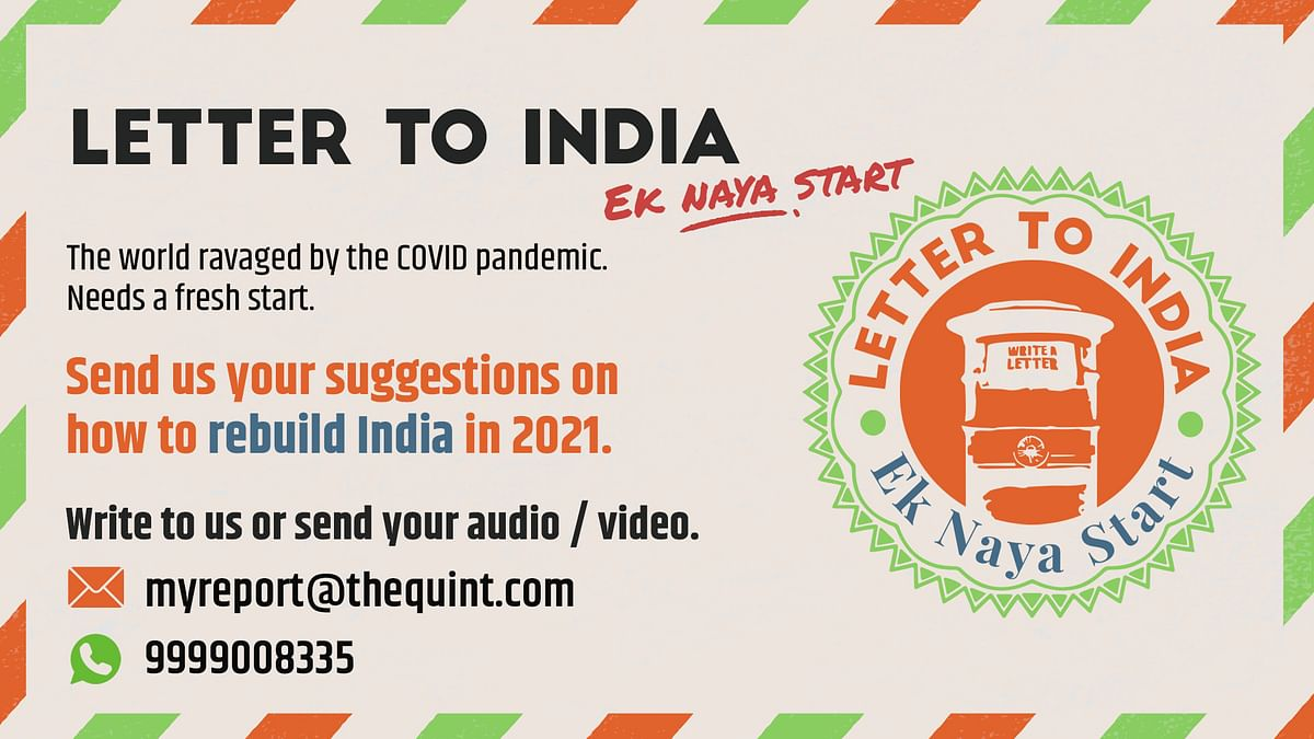 The Quint's Letter to India campaign