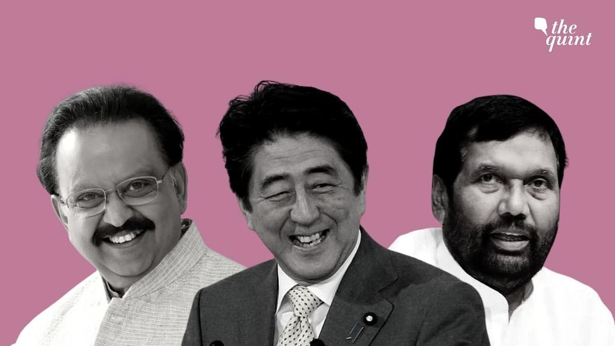 Shinzo Abe, Late Singer SPB, Ram Vilas Paswan Among Padma Awardees