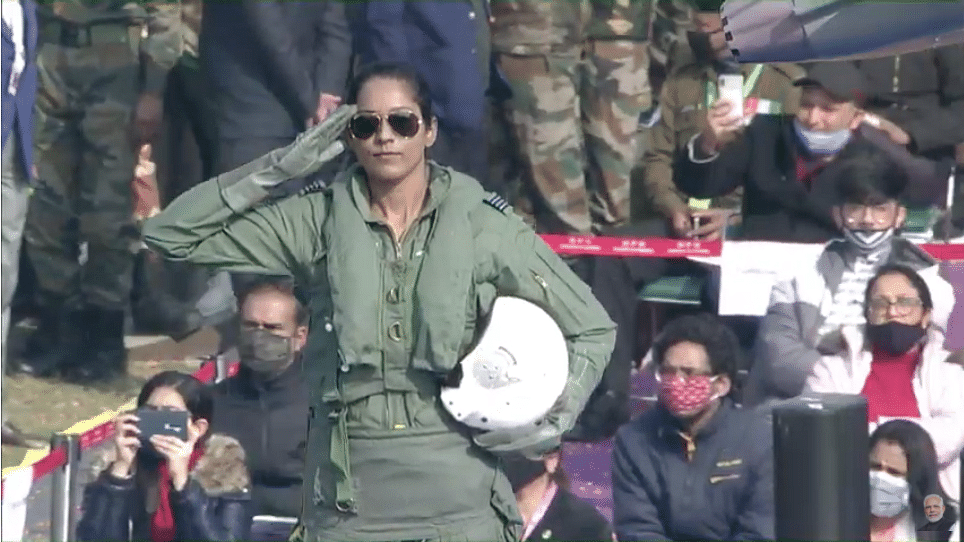 Bhawana Kanth – 1st Woman Fighter Pilot to Be Part Of R-Day Parade