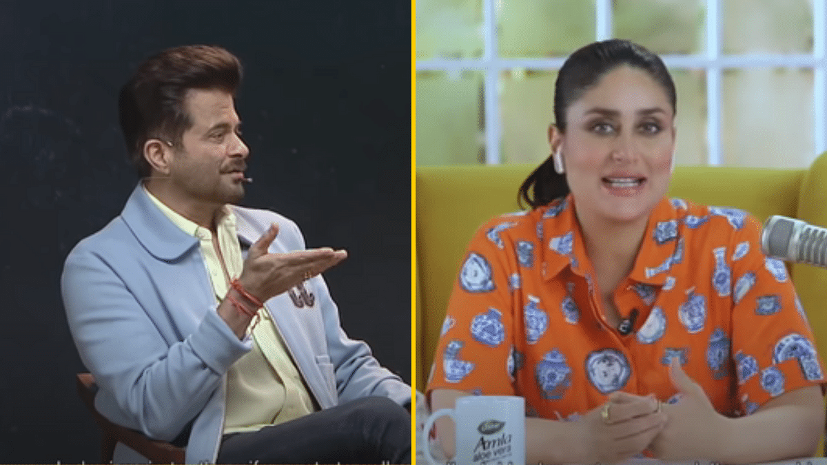 Anil Kapoor was a guest on Kareena Kapoor's chat show <i>What Women Want</i>.