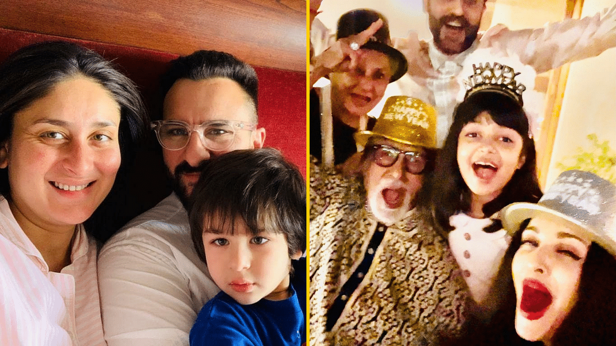 Inside Pics: Here's How Kareena, the Bachchans Celebrated New Year