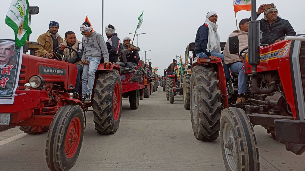 Farmers protesting  the three contentious farm laws will hold tractor rallies on 26 January, Republic Day.