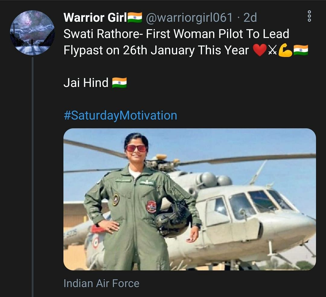Swati Rathore Becomes First Woman To Lead Republic Day Parade