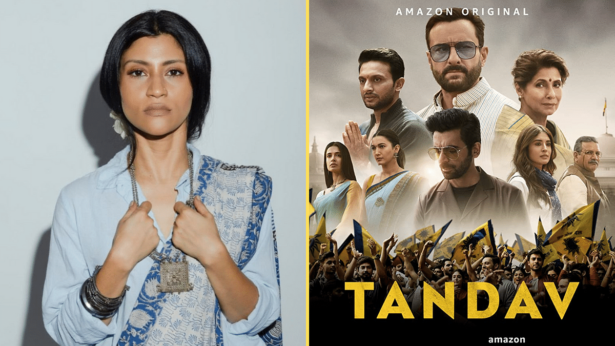 Actor Konkona Sensharma has criticised the Supreme Court's refusal to pass an order staying the FIRs against the makers of <i>Tandav</i>.