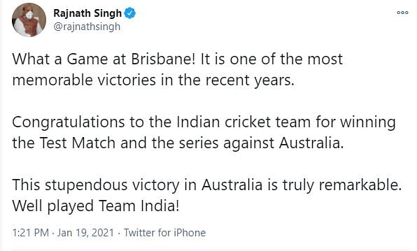 'Overjoyed': PM, Others on Team India's Historic Series Win in Aus