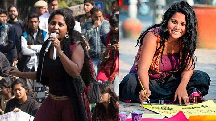 Devangana Kalita, student activist and leader of Pinjra Tod