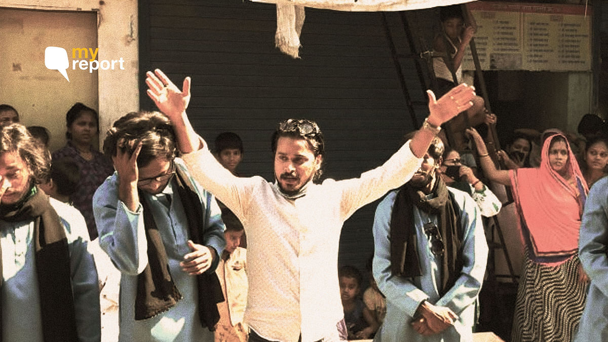 'Using Street Plays to Help Actors Overcome Addiction in Mumbai'