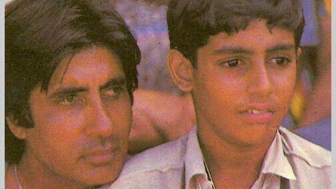 Amitabh and Abhishek Bachchan.