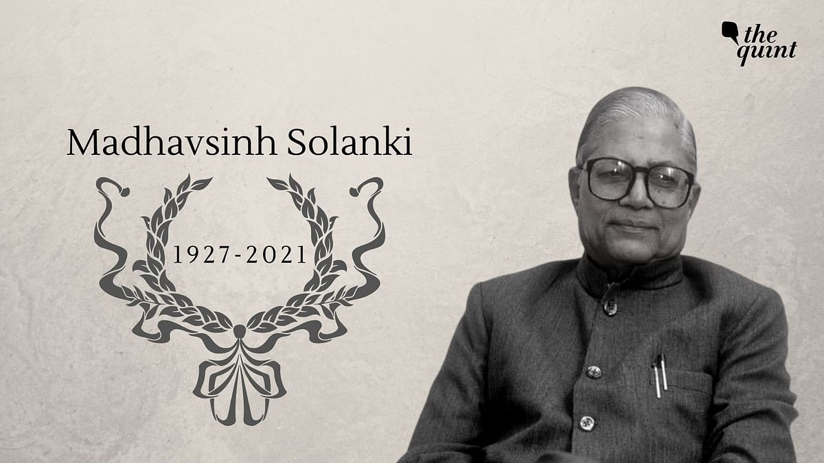 Veteran Congress leader and former chief minister of Gujarat, Madhavsinh Solanki passed away on Saturday, 9 January at the age of 93.