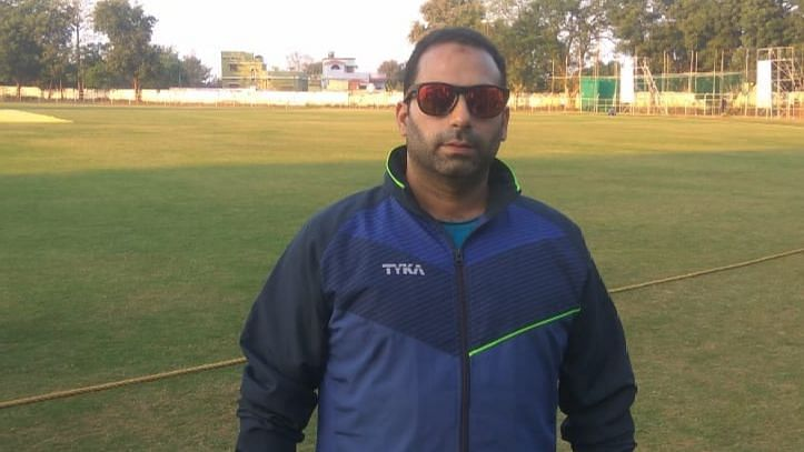 File photo of Mujtaba Ahmad Wani, a senior video analyst who worked with J&K's Under-19 team last season.