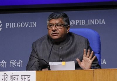 Union Law and Justice, Electronics and Information Technology and Communications Minister Ravi Shankar Prasad stated that there are 25,067 villages without internet connectivity.