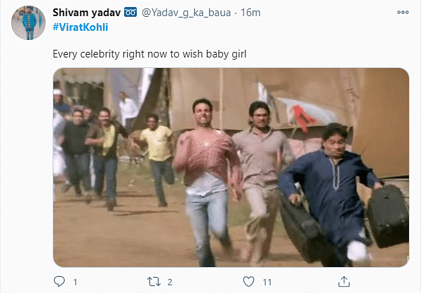 Twitter Explodes With Memes After 'Virushka' Announce Baby Girl