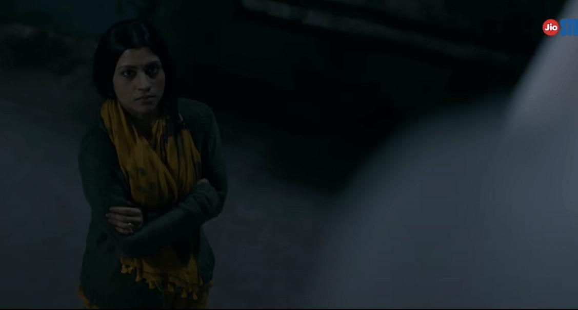 Konkona Sensharma in a still from the film.