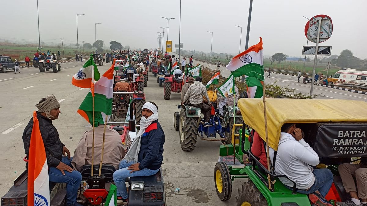 Farmers in Karnataka to Hold Tractor Rally Sans Police Permission