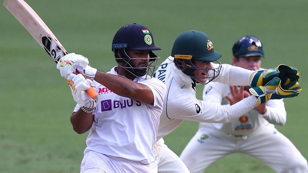 Rishabh Pant scored 89 not out in the fourth innings of the Gabba Test vs Australia.