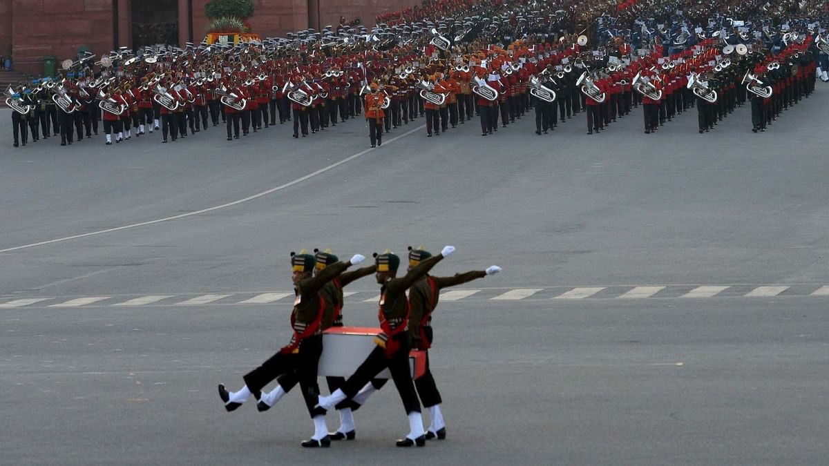 Beating Retreat Ceremony Concludes 4 Days Of R-Day Celebrations