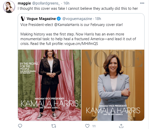 Greatest Insult: Vogue Gets Flak For Kamala Harris Cover