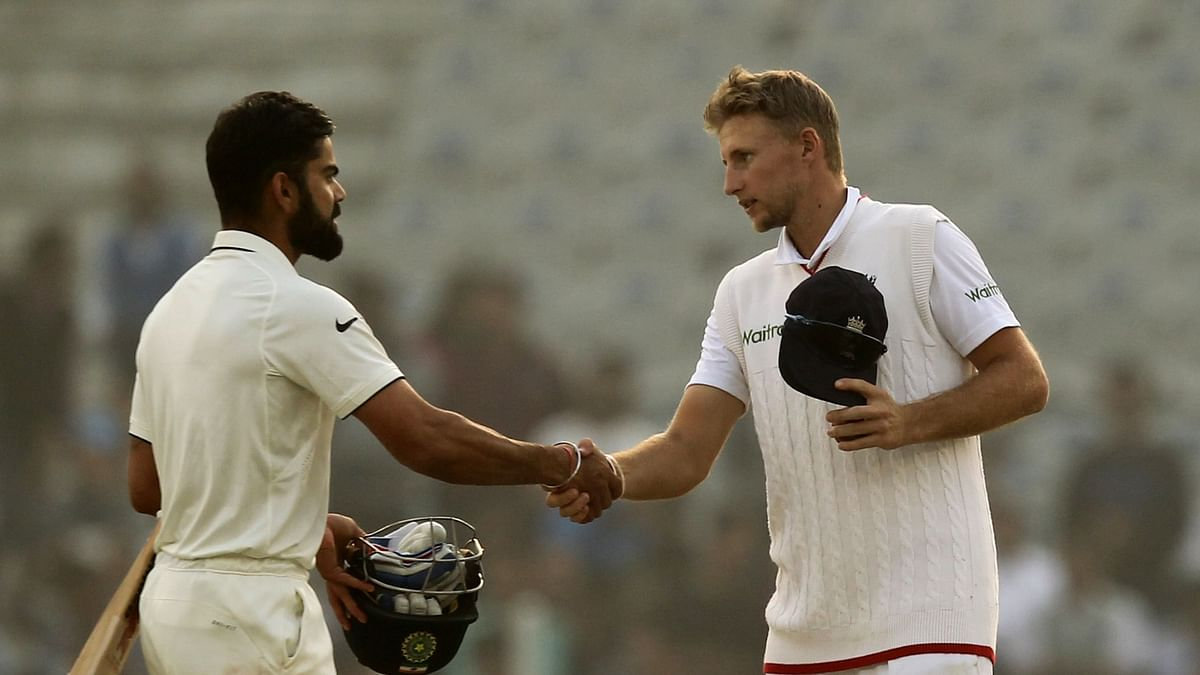 Virat Kohli and Joe Root will lead their teams in the upcoming Test series in India starting 5 February.