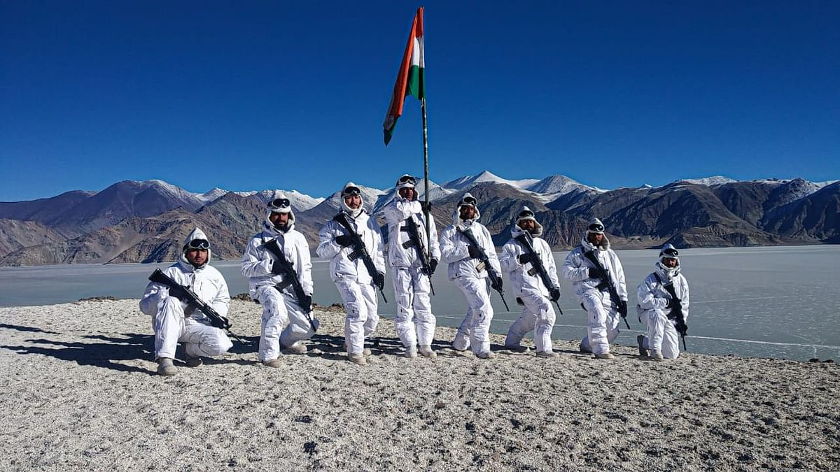Republic Day: ITBP Jawans in Ladakh Raise Indian Flag at -20° C