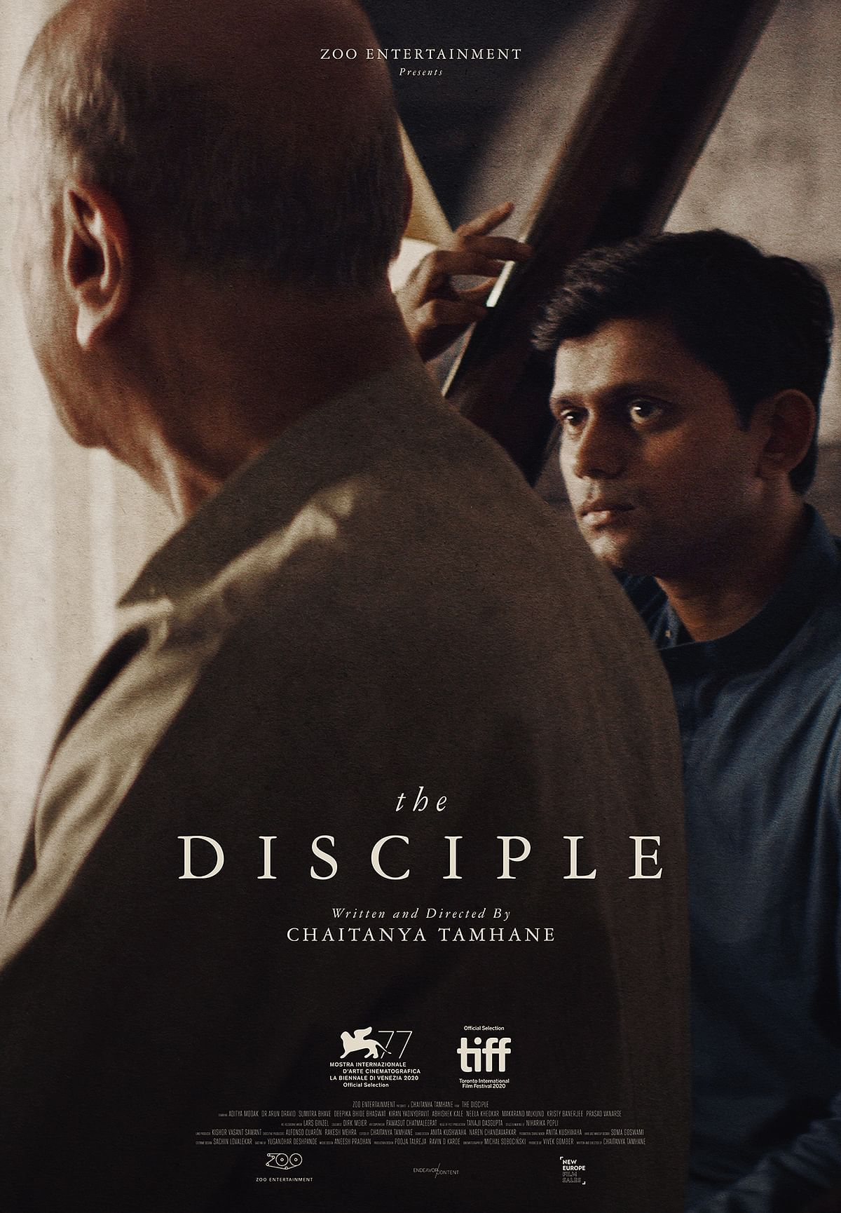 A poster of <i>The Disciple.</i>