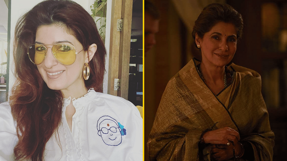 Twinkle Khanna Reacts To Dimple Kapadia's Performance in 'Tandav'