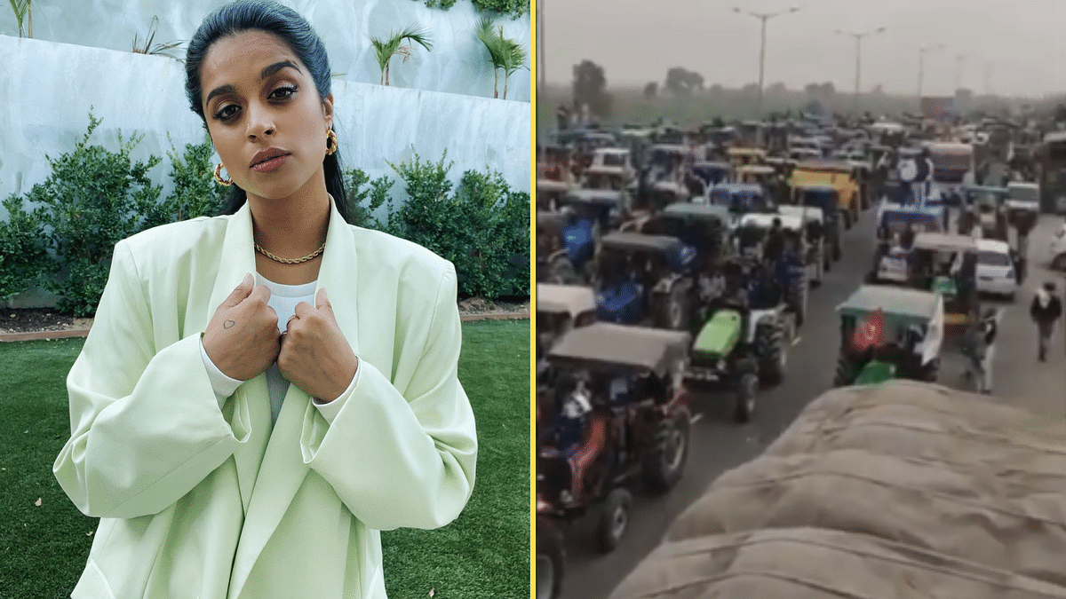 YouTube star Lilly Singh tweeted in support of protesting farmers who organised a tractor rally on Republic Day.