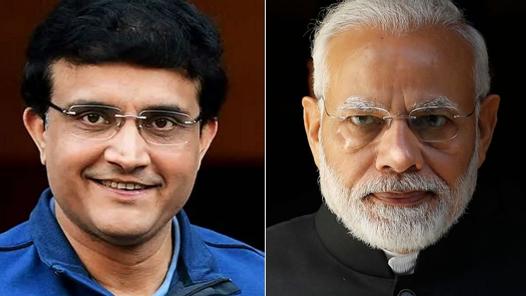 PM Modi Calls up Sourav Ganguly to Check About His Health