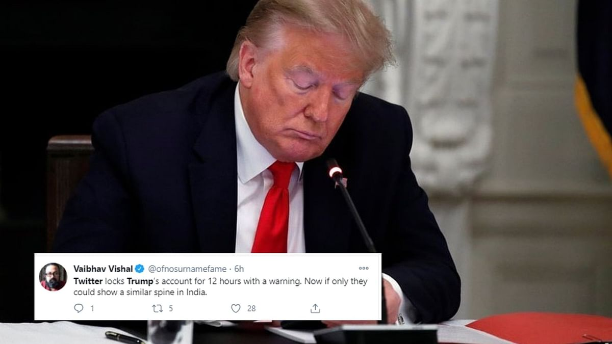 Twitter Reacts To Trump Being Suspended From Social Media