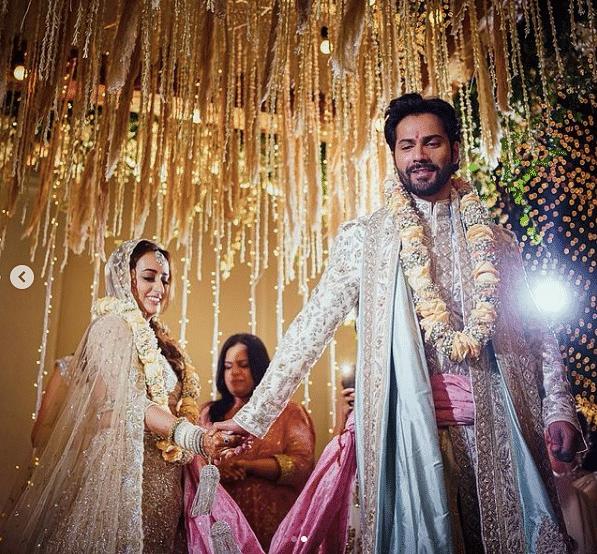 Varun Dhawan and Natasha Dalal's wedding took place on Sunday, 24 January.