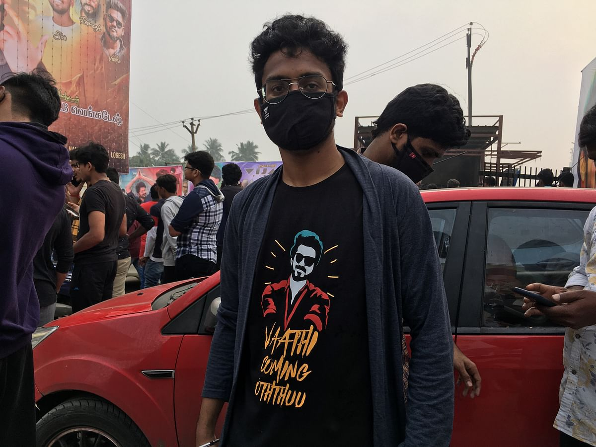 'Vaathi Raid Coming' T shirts were a craze.