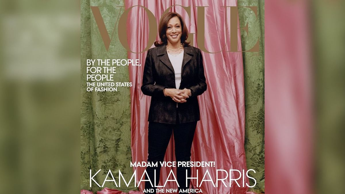 United States Vice President-elect Kamala Harris will be appearing on the cover of Vogue's February issue.