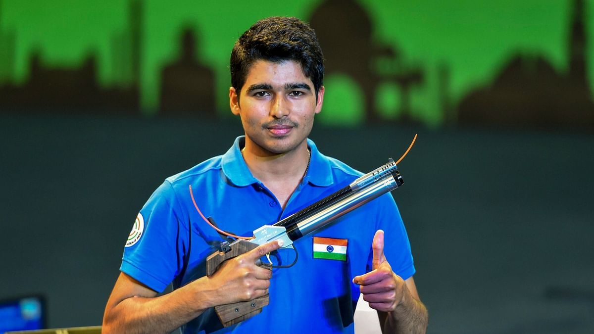 Saurabh Chaudhary is one of India's biggest medal hopes from shooting at the 2021 Tokyo Olympics.