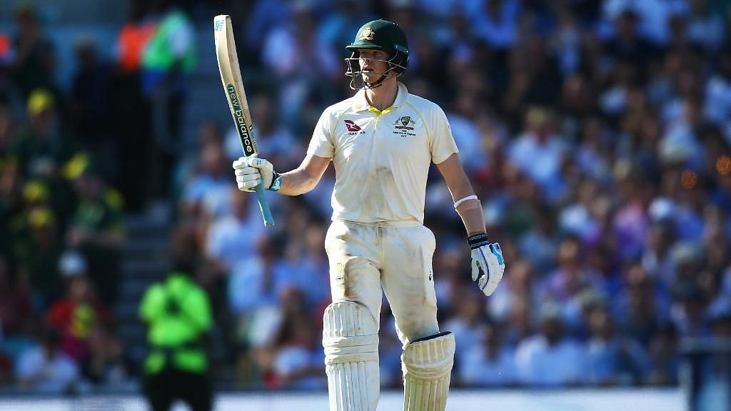 Steve Smith scored a century in the first innings against India at the Sydney Test.