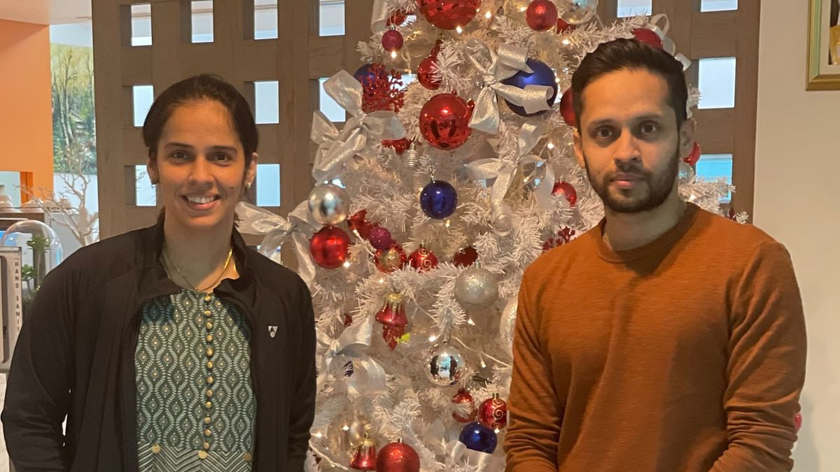 Saina Nehwal, Kidambi Srikanth left for Thailand on Sunday to compete in three back-to-back tournaments.
