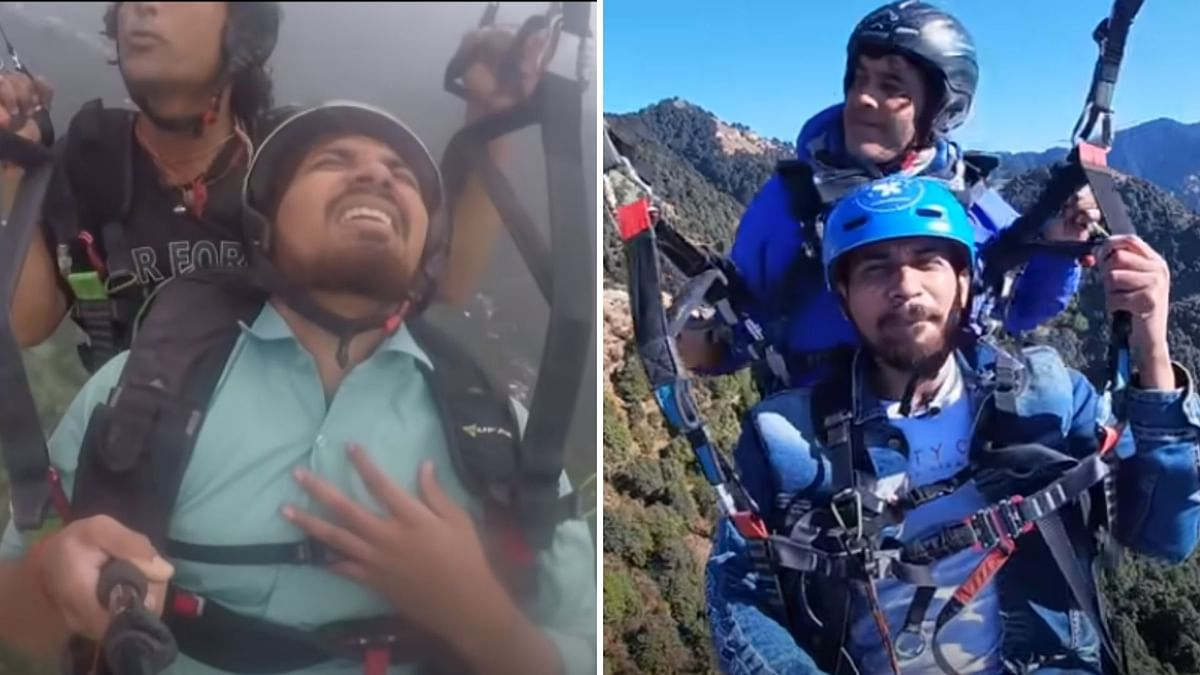 Remember The Paragliding Man Who Went Viral? He's Back