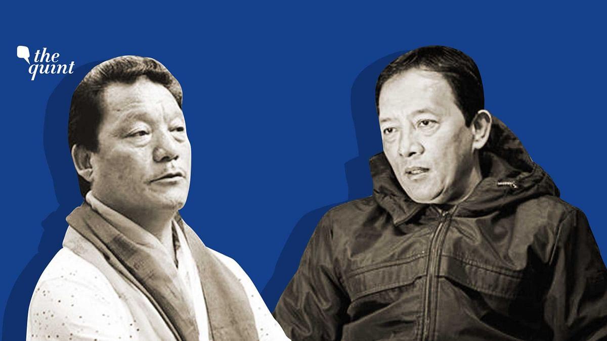 Bimal Gurung and Binoy Tamang