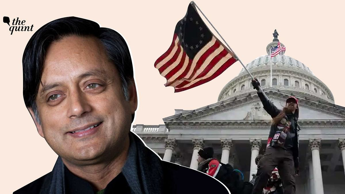 Image of Dr Shashi Tharoor, the author of this piece, used against the backdrop of the Capitol riots in US, is for representational purposes only.