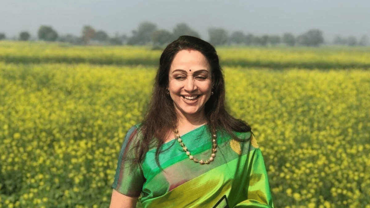 BJP MP Hema Malini has welcomed the Supreme Court's intervention in the farmers' protest.