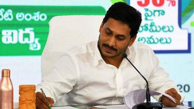 Jagan alleged that these acts of vandalism are occurring in private temples owned by political leaders.