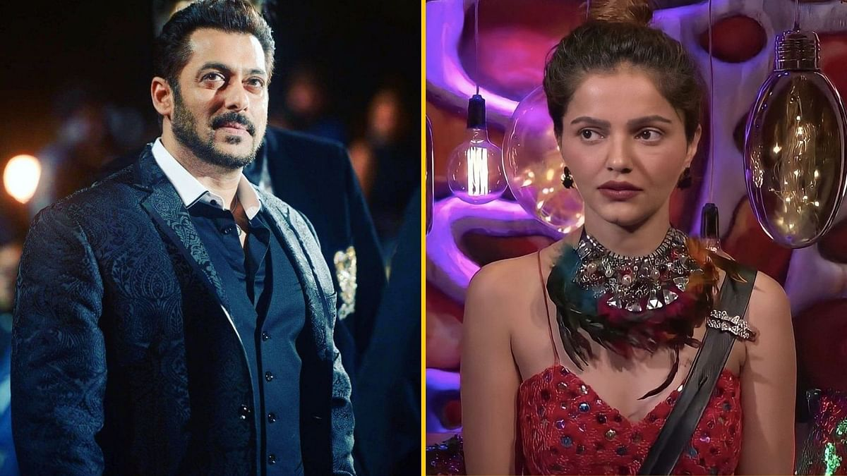 Salman Khan gets angry with Rubina for her 'abusive gesture'