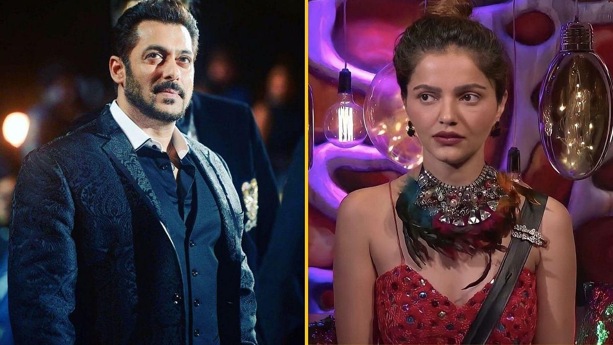 Bigg Boss 14: Salman Pulls up Rubina for Using 'Abusive Gesture'
