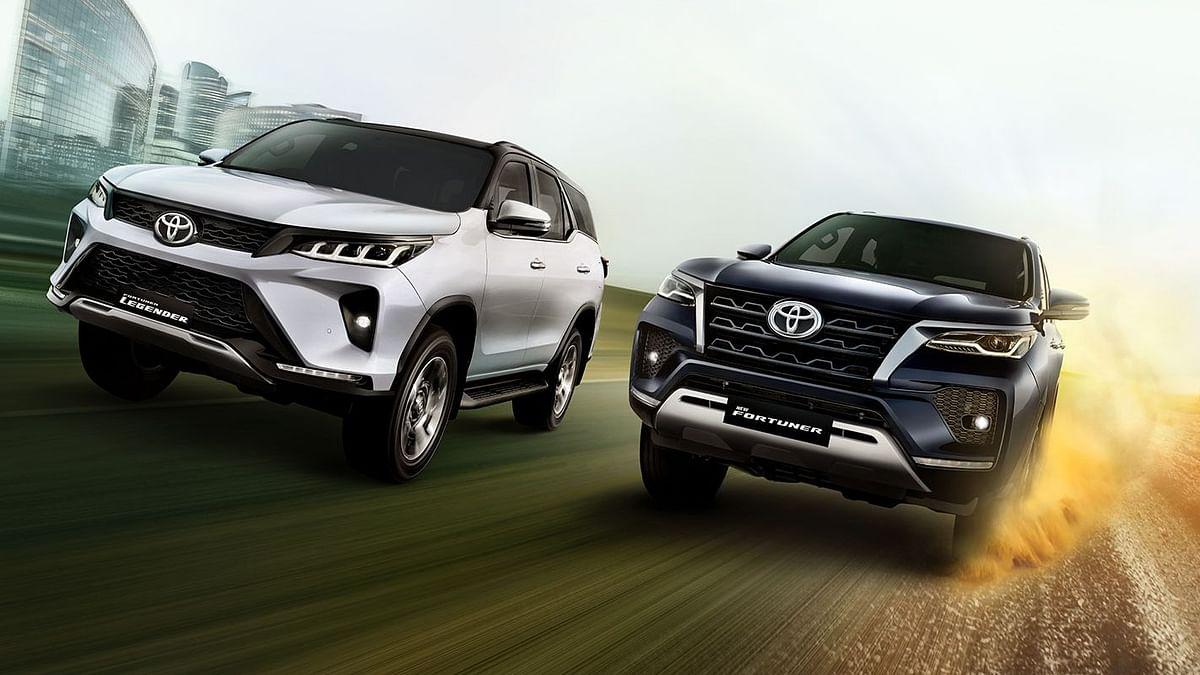 Toyota Fortuner and Fortuner Legender