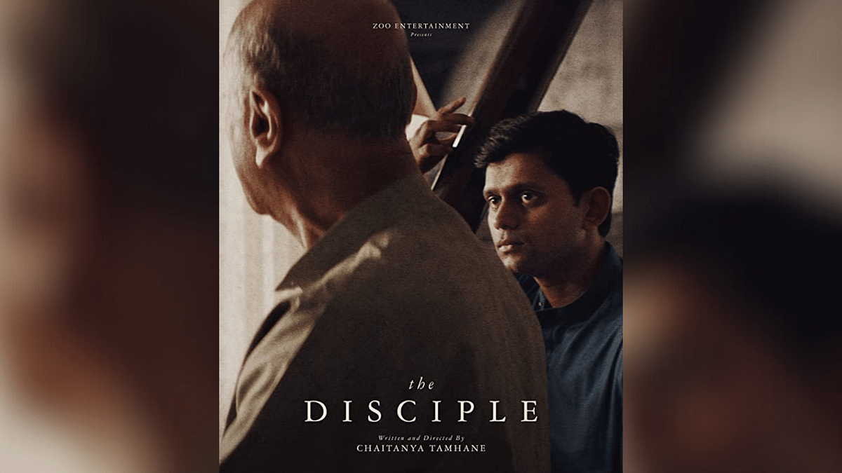 A poster for Chaitanya Tamhane directorial <i>The Disciple</i>.