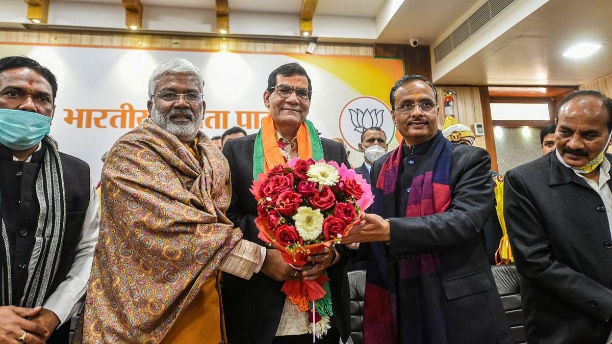 A former IAS officer, AK Sharma, joined the Bharatiya Janata Party (BJP) on Thursday, 14 January.