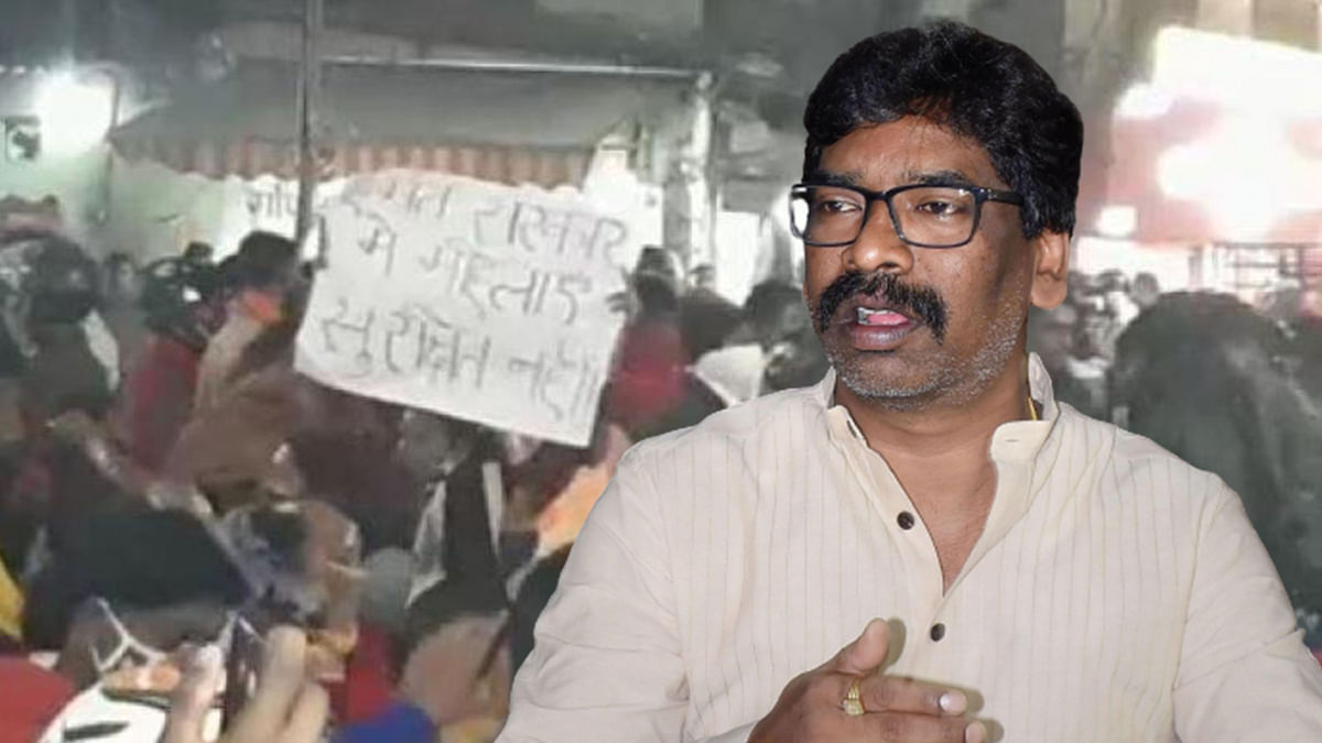 Jharkhand CM Soren's Convoy Attacked in Ranchi, Dozens Arrested