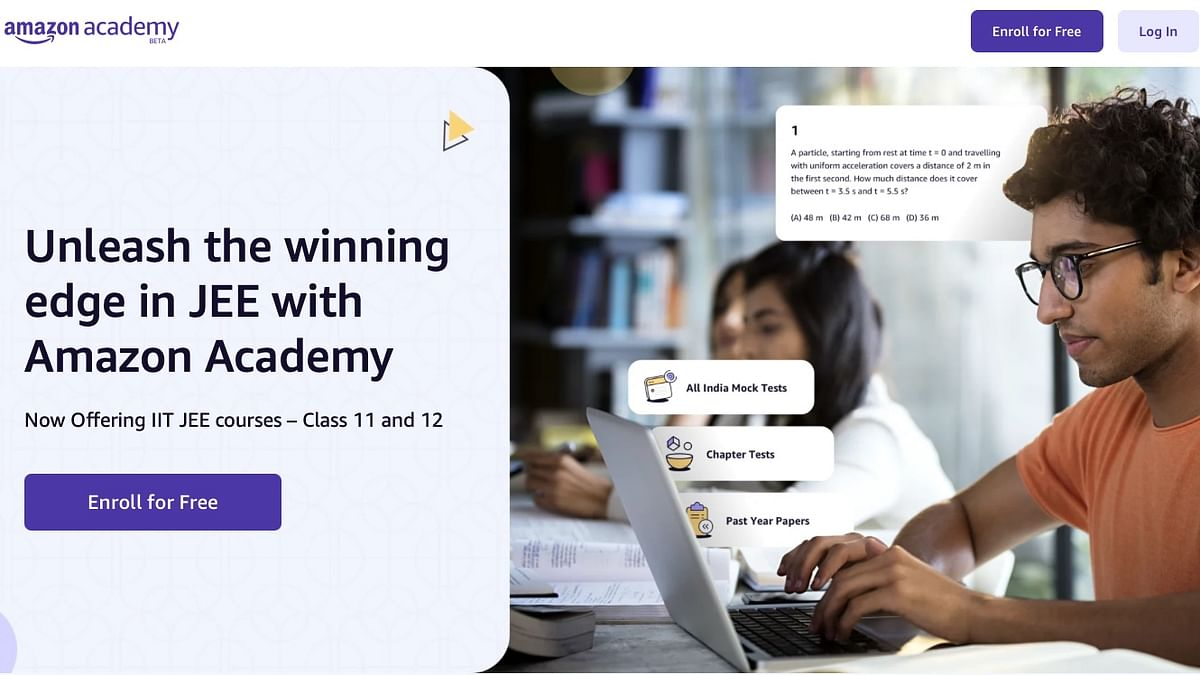 Amazon Academy will offer students a range of JEE preparatory resources at launch, including specially-crafted mock tests by industry experts.